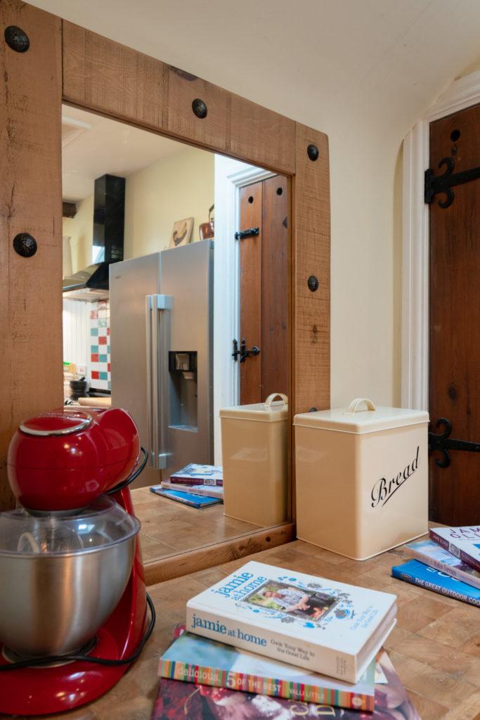 Blenheim kitchen close up fridge