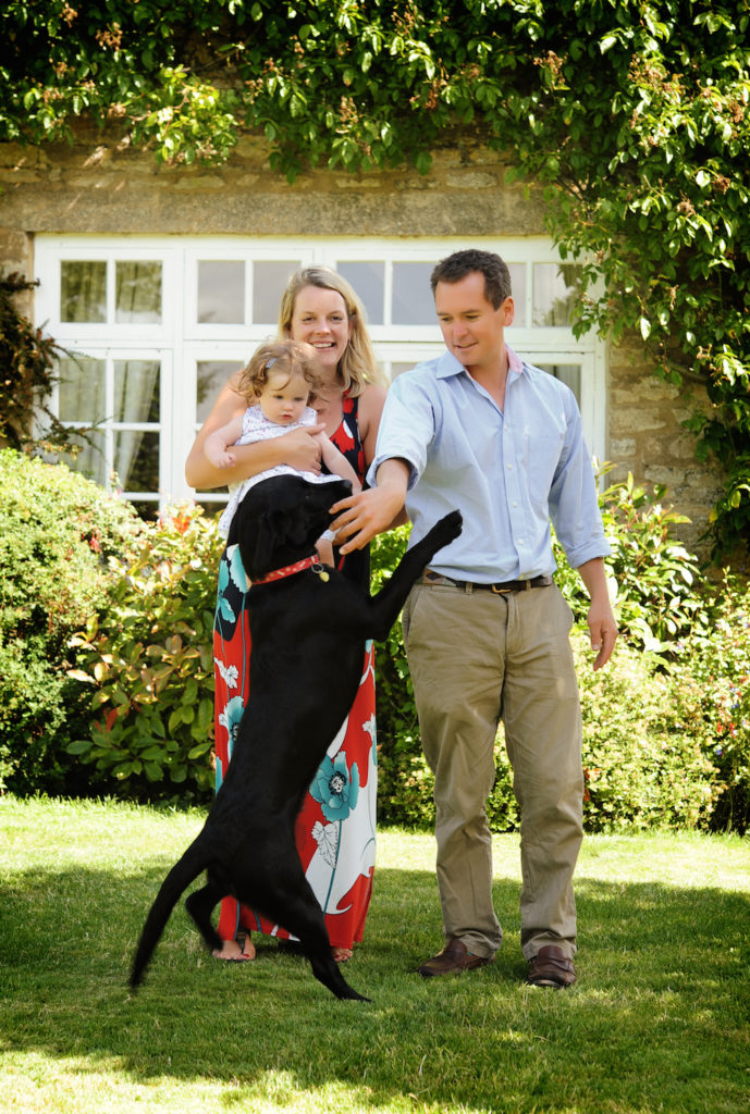 Felicity-and-James-Dolleymore-with-BobDog