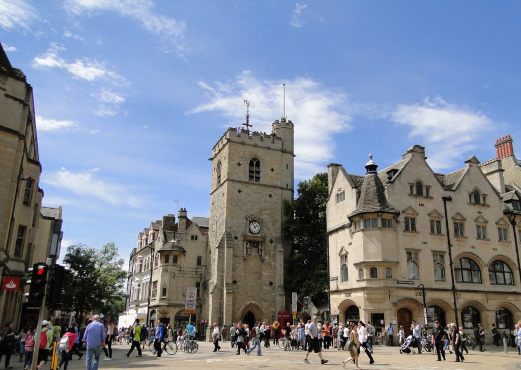 Clock Tower, Oxford