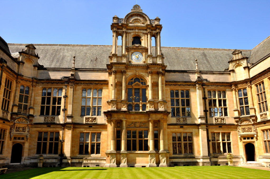 Exterior view of the Examination Schools in Oxford.