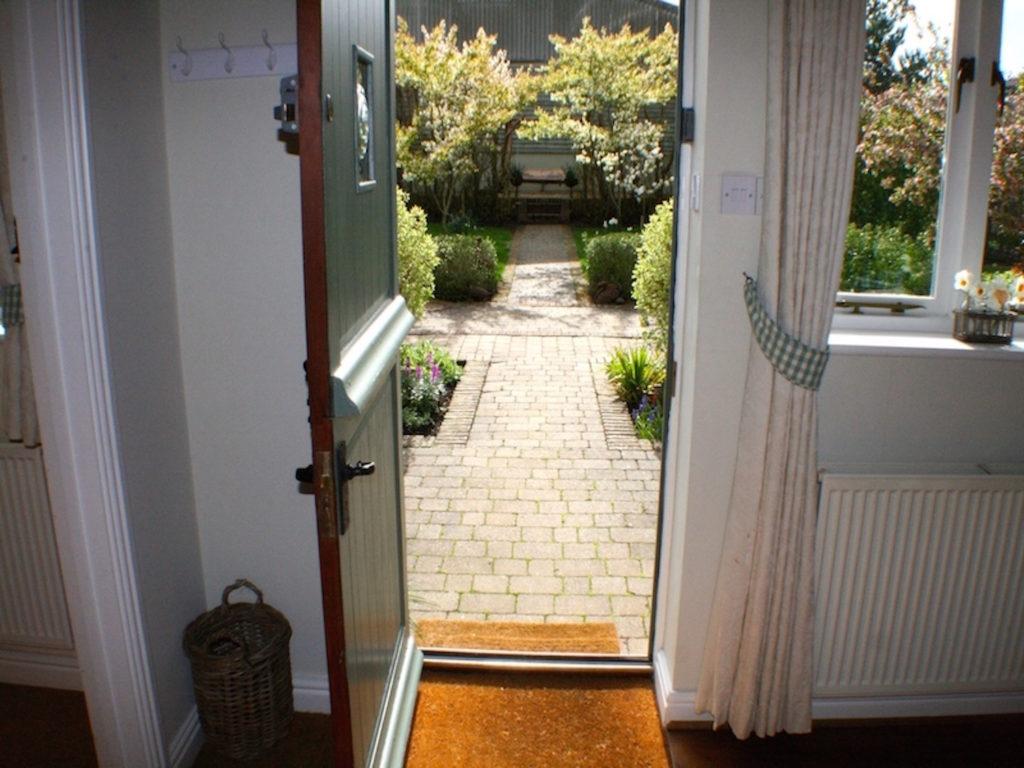Magdalen front door